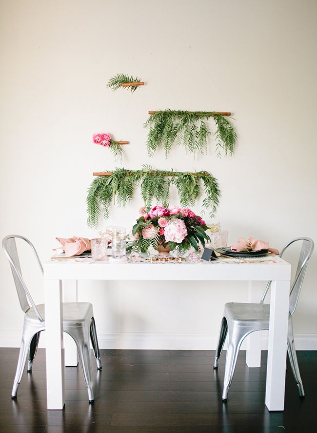 Romantic At Home New Year's Eve Dinner Party | Rustic ...