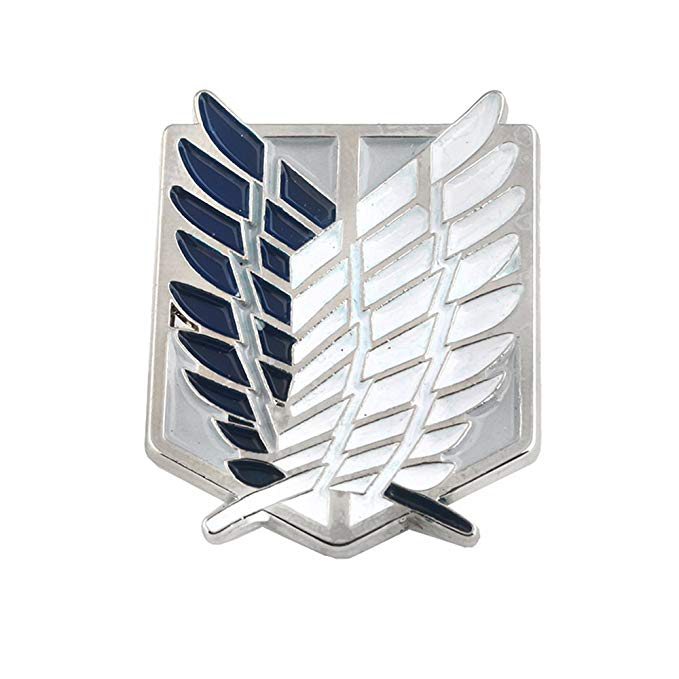 Amazon Com Attack On Titan Pin Attack On Titan Wings Of Liberty