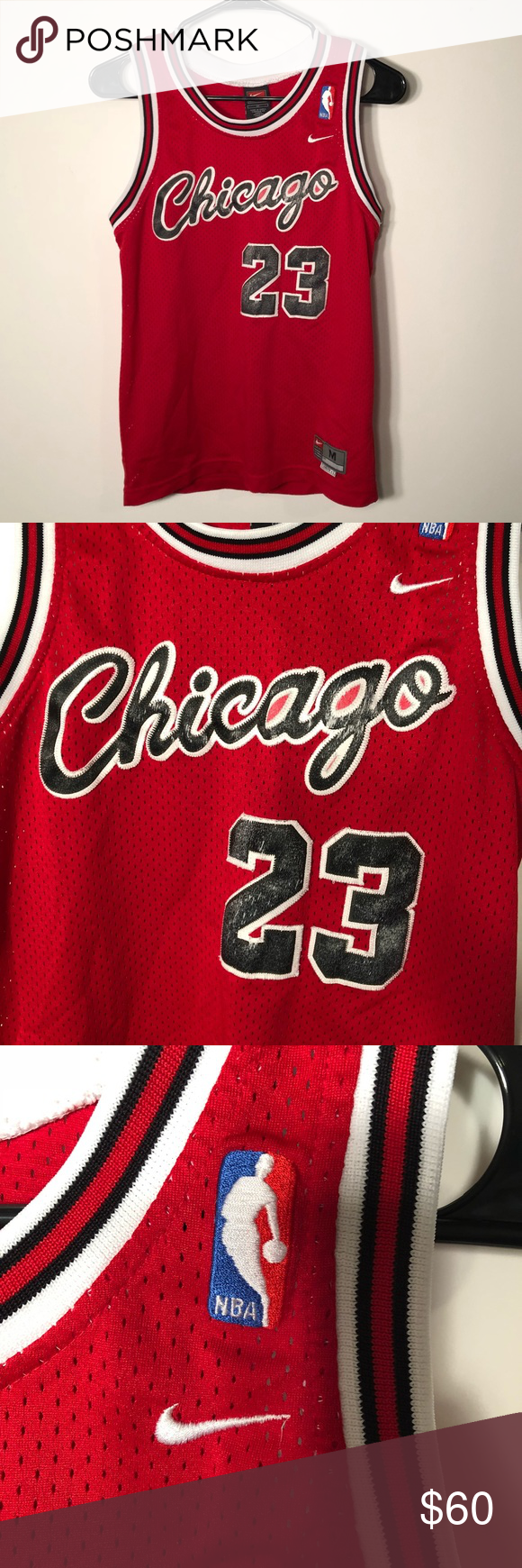 huge selection of b9abc 25d42 Nike Authentic Kids Medium Michael Jordan Jersey Nike ...
