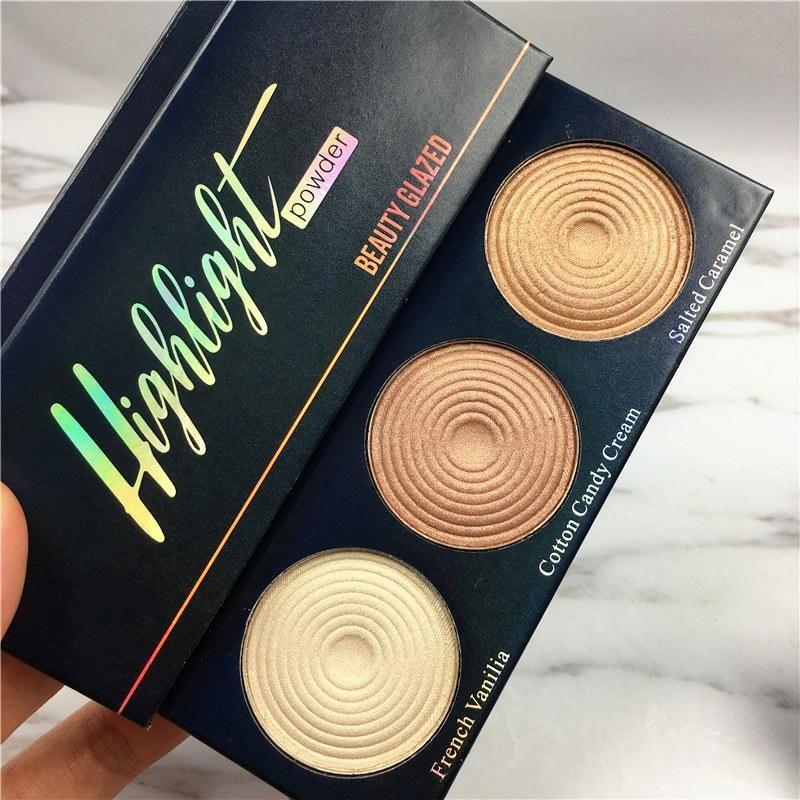 'Lightning Strikes' Skin Glow Pressed Highlighter Trio