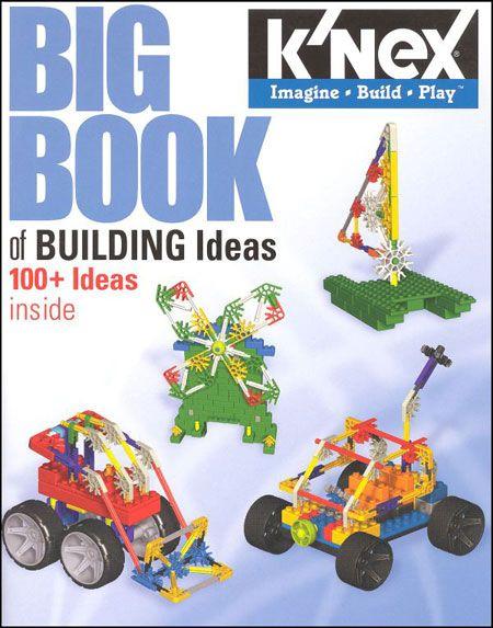 Knex Big Book Of Building Ideas Cd Knex Pinterest Brain