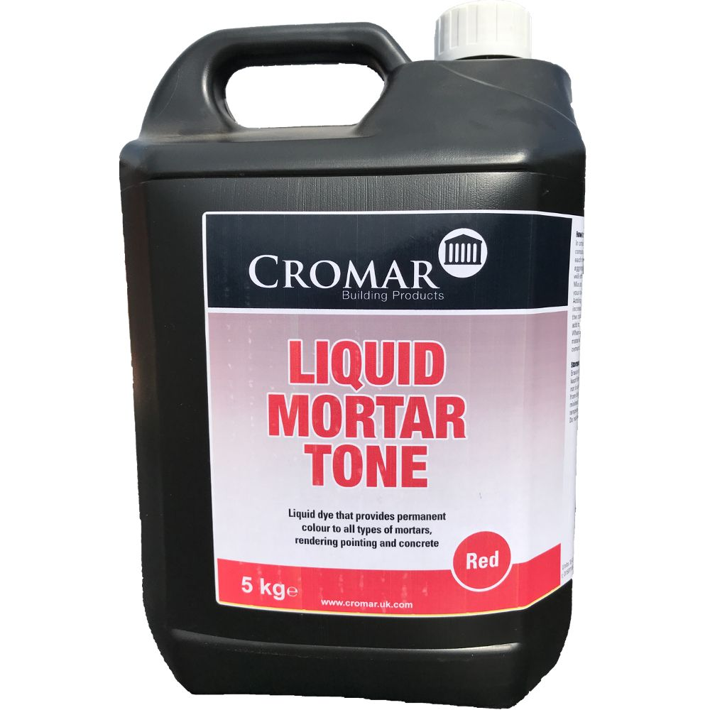 Cromar Liquid Mortar Tone Cement Mortar Dye Roofing Supplies
