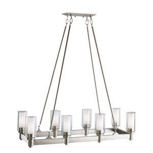 Kichler Lighting Circolo™ 60W 8-Light Medium Base Incandescent Chandelier in Brushed Nickel KK2943NI