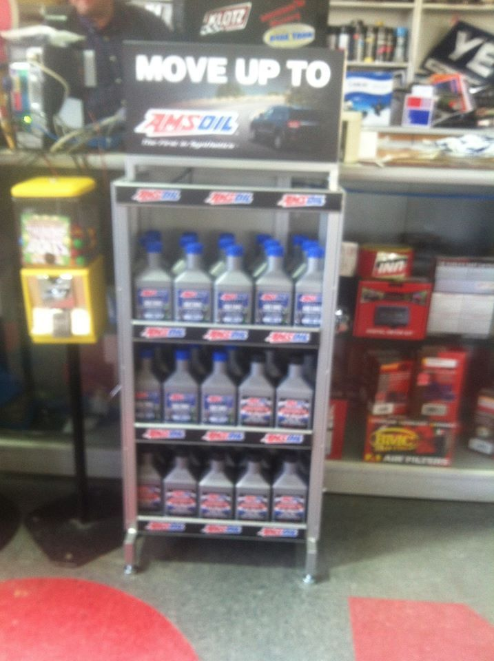 New Amsoil Display At B B Bikes And Boats In Sikeston Mo Stop By