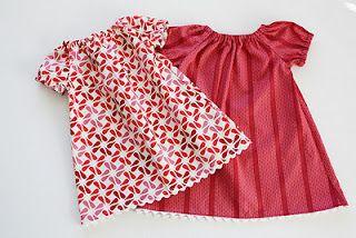 10 free dress sewing patterns/tutorials