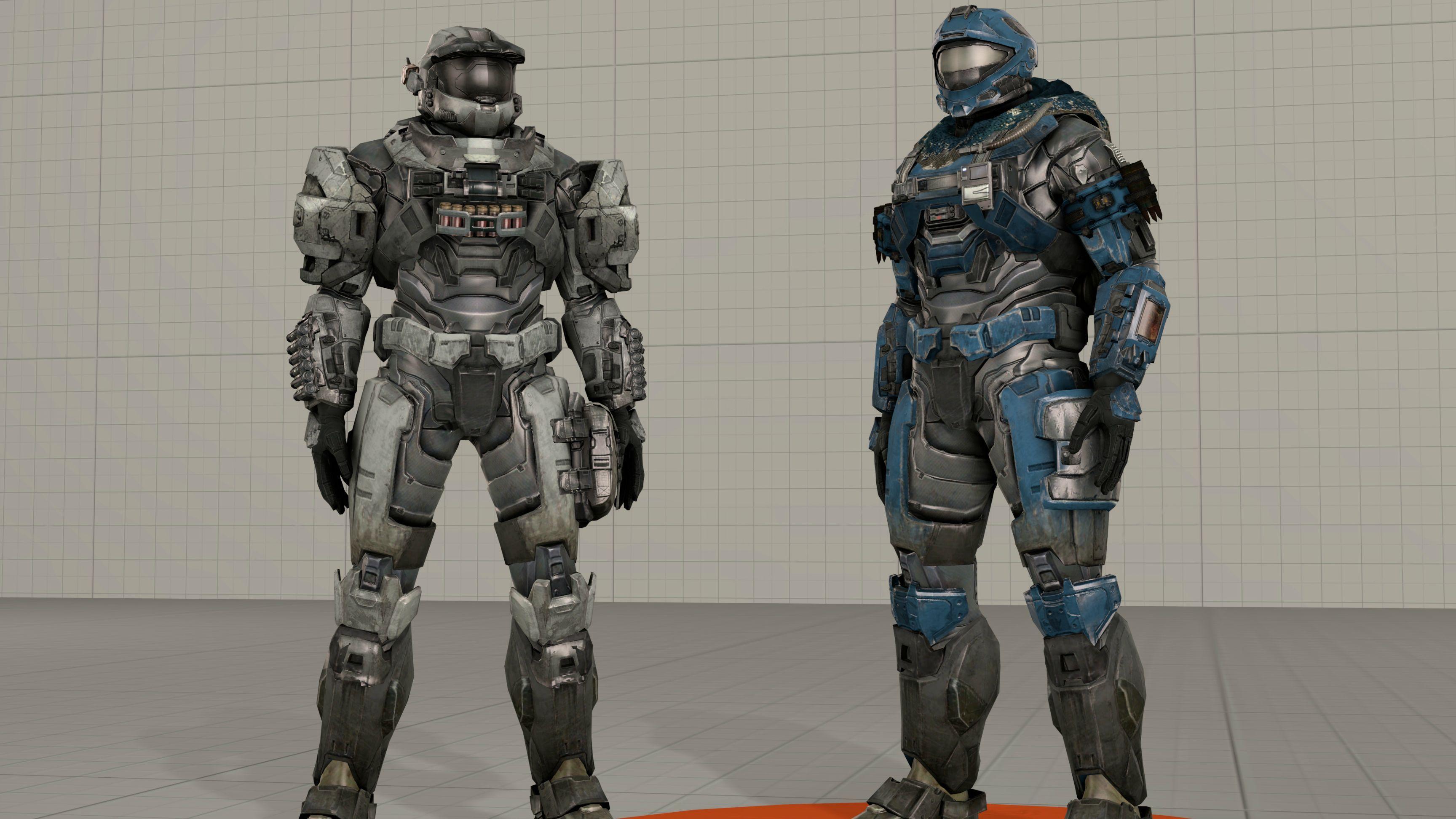 Custom Spartan Player Model