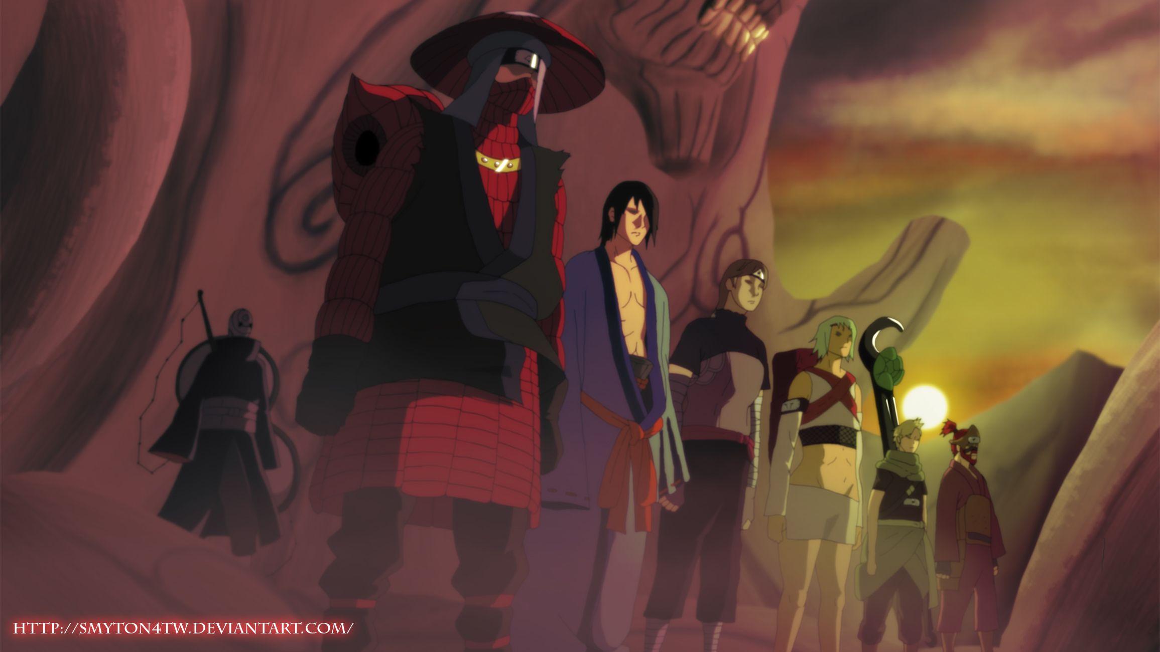 Naruto shippuden akatsuki sharingan screenshots tobi