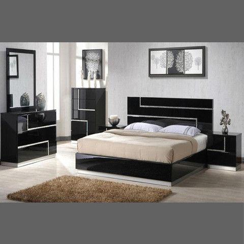 Lucca Bedroom Set | Bedroom Furniture | Contemporary bedroom ...