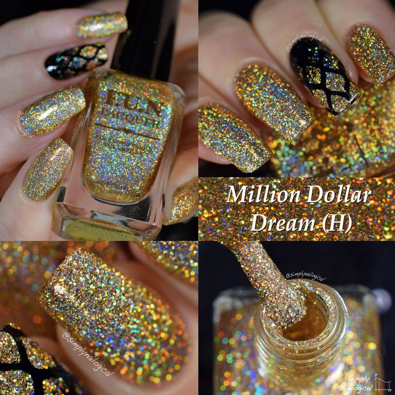 Fun Lacquer Million Dollar Dream (H) Swatch by simplynailogical ...