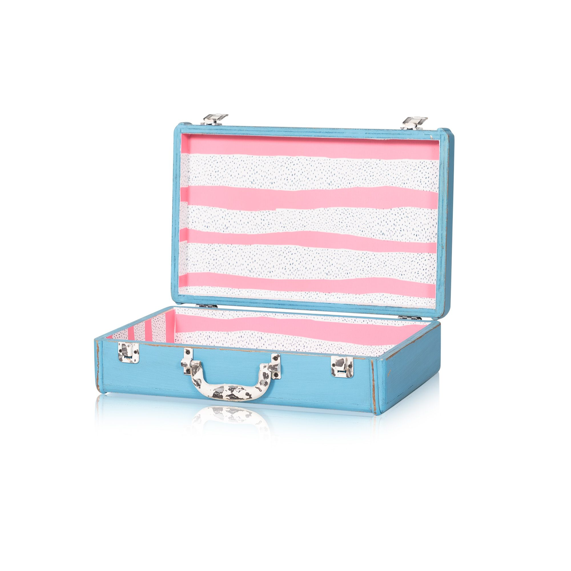 Buy The Extra Small Loft Decorative Storage Suitcase At Oliver Bonas. Enjoy  Free UK Standard Delivery For Orders Over £50.
