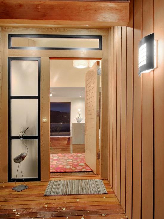Modern Spaces Glass Door And Sidelights Design Pictures