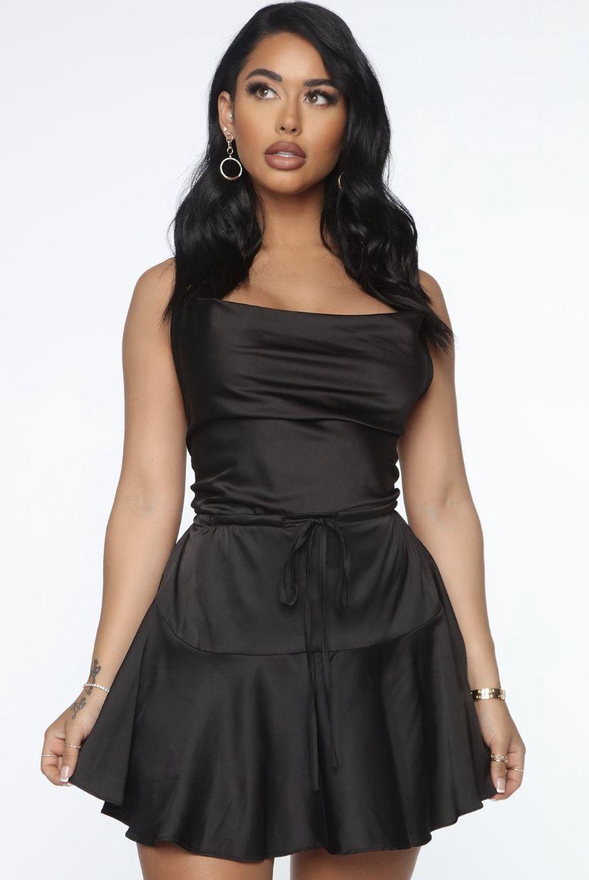 Care To Slay Satin Mini Slip Dress Black Mini Slip Dress Dresses Slip Dress [ 1236 x 828 Pixel ]