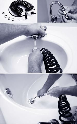 The do it yourself plumbing tool that turns your faucet into a power the do it yourself plumbing tool that turns your faucet into a power washer chemical free maintenance solution for slow clogged drains price 3995 solutioingenieria Images