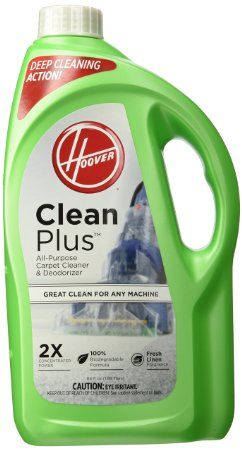 Hoover CLEANPLUS 2X 64oz Carpet Cleaner and Deodorizer, AH30330, 2016 Amazon Top Rated Vacuums & Floor Care #Kitchen
