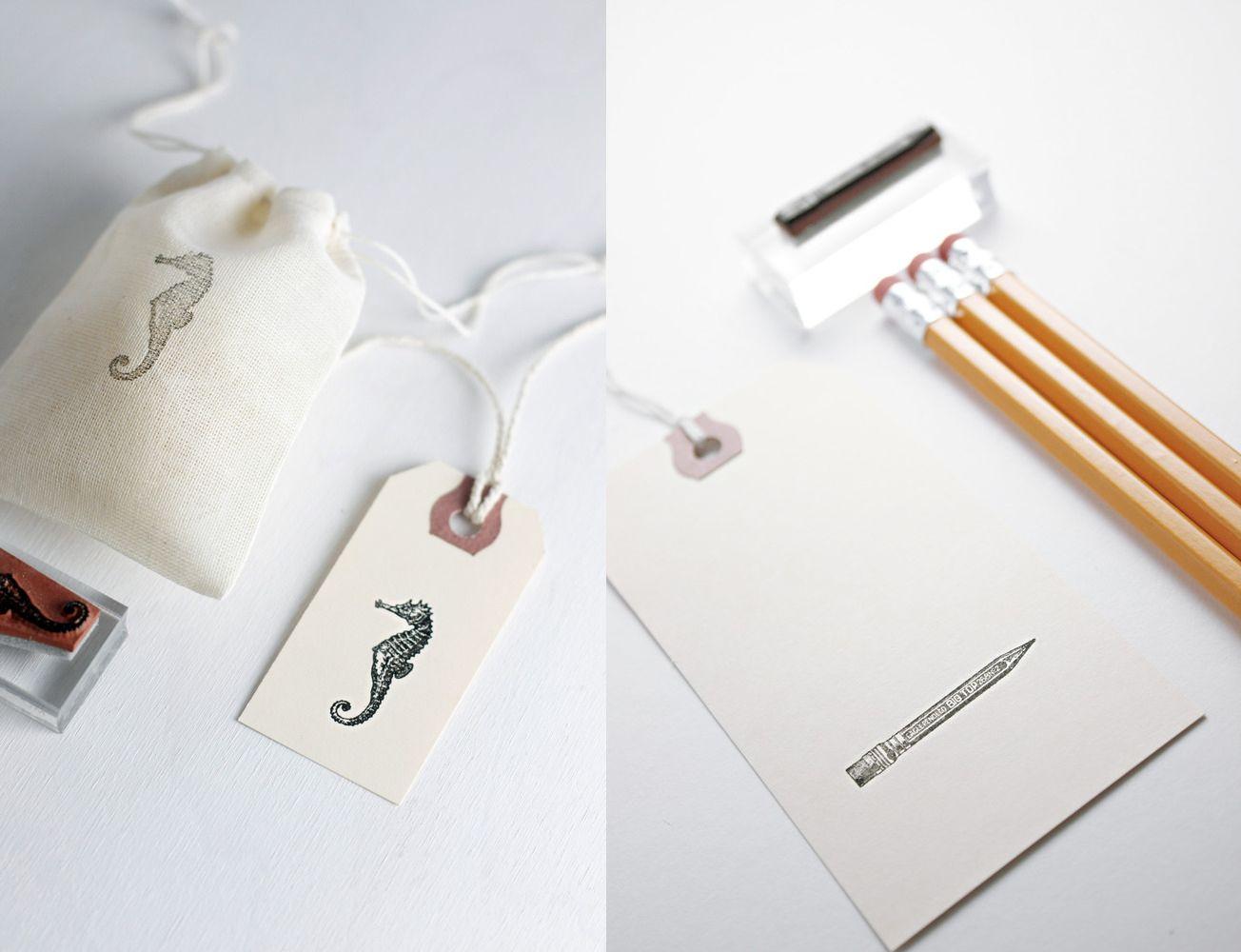 Sellos, una nueva impresión artesanal