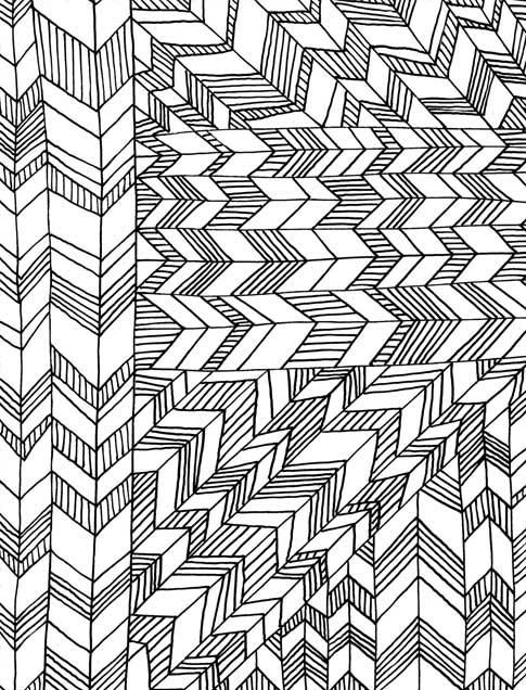 coloring book geometric patterns - Coloring Book Patterns