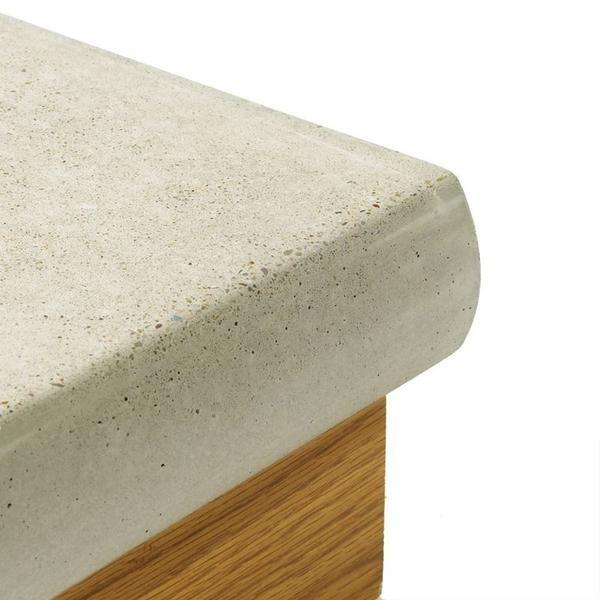 Concrete Countertop Cast In Place Forms Half Bulnose Concrete