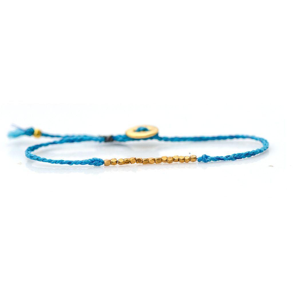 Bead friendship bracelet colbalt products pinterest beaded