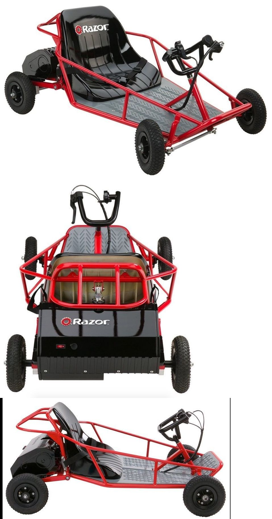 Complete Go-Karts and Frames 64656: Go Cart Electric Dune Buggy Kids ...