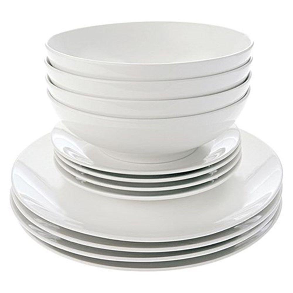 $59.95 Maxwell \u0026 Williams White Basics Coupe Dinner Set 12 Piece Gift Boxed | Dinner Sets  sc 1 st  Pinterest & $59.95 Maxwell \u0026 Williams White Basics Coupe Dinner Set 12 Piece ...