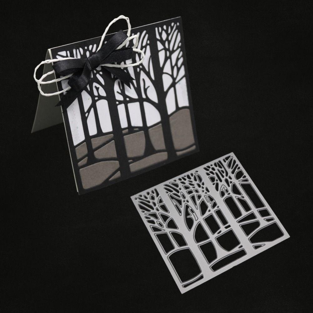 Auto Bäume Weihnachten Metall Stencil Cutting Dies Scrapbooking Karten Handwerk