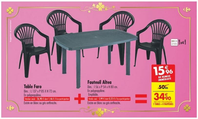 20 Harmonieux Table De Jardin Plastique Carrefour Stock In 2020 Table Decor Carrefour