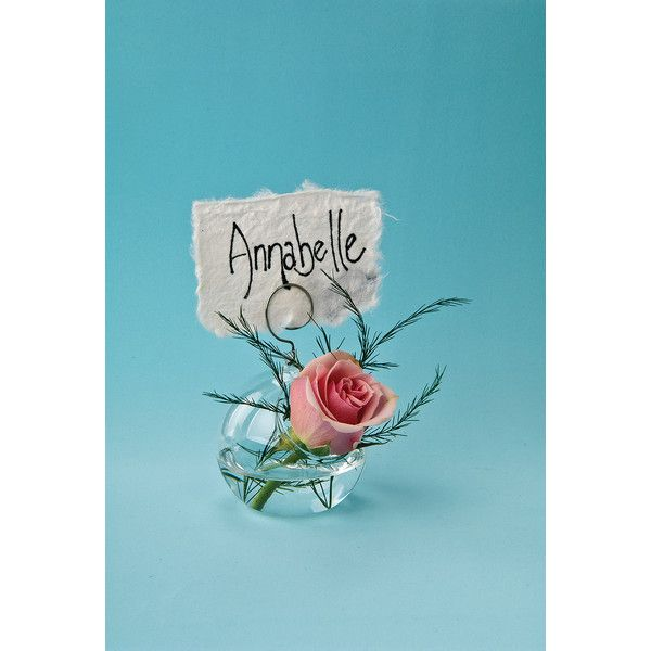 Small Glass Place Card Vase (2.5-Inch, Globe and Wire Design) ($4 ...