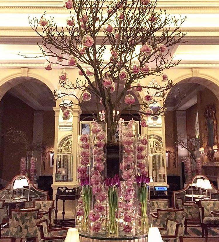 Mcqueens On Instagram Centre Stage Claridgeshotel Mcqueens Flowers Florist London Claridges Claridges London Claridges Instagram