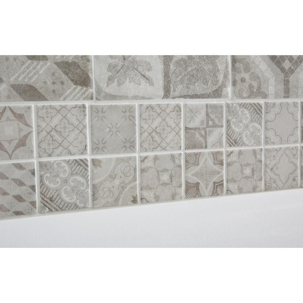 Decorative Accent Ceramic Wall Tile Adorable Marazzi Eclectic Vintage Timeworn Painted 4 Inx 12 Inceramic Inspiration Design