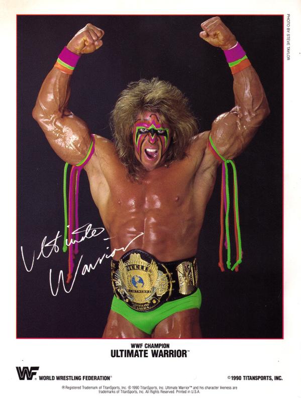 Ultimate Warrior Pro Wrestler Ultimate Warrior Wwf