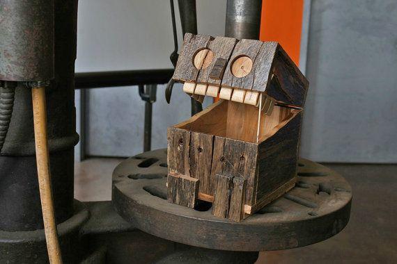 Reclaimed Wood Box - Monster Maple Pallet. $80.00, via Etsy.