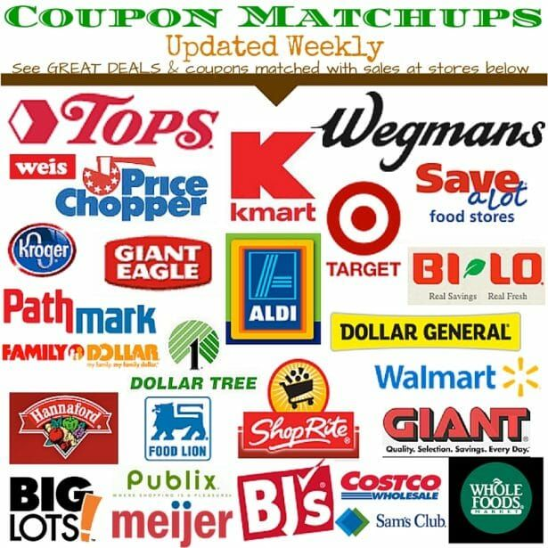 Current Grocery Coupon Matchups Plus Drugstore Coupon