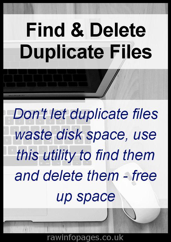 duplicate file finder mac