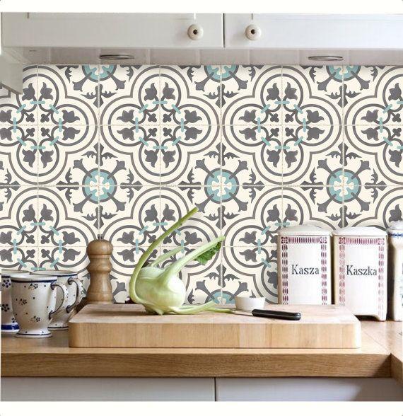 Tile Decals Stickers For Kitchen Backsplash Floor Bath Etsy Tile Decals Stickers Kitchen Backsplash Tile Decals