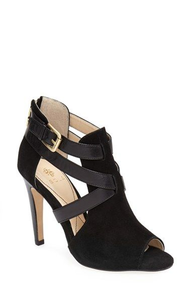 32fedea5a Isolá  Blinn  Peep Toe Suede Bootie (Women) available at  Nordstrom ...