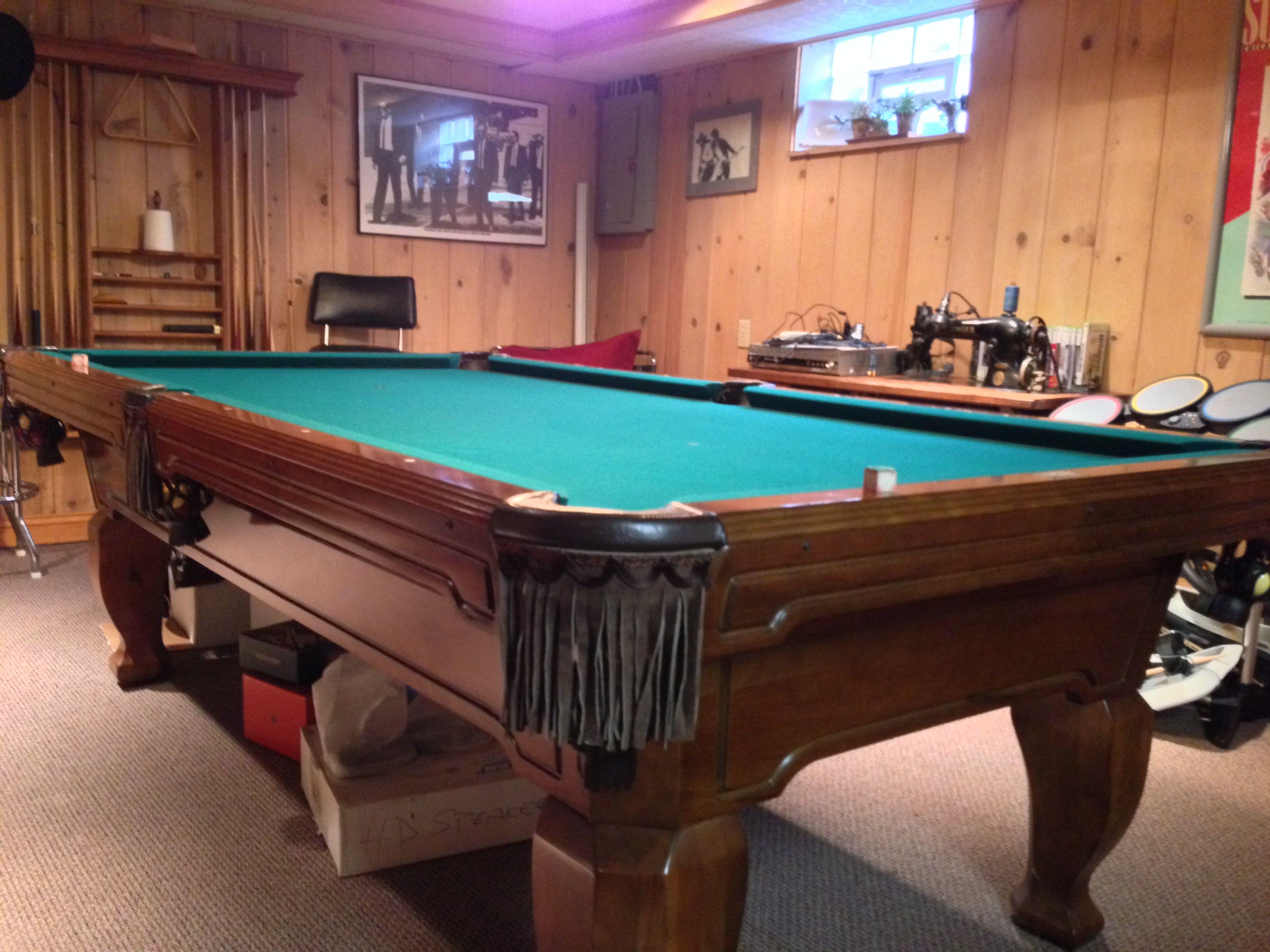 Brunswick Billiards Madison Sold Used Pool Tables Billiard Tables - Brunswick madison pool table