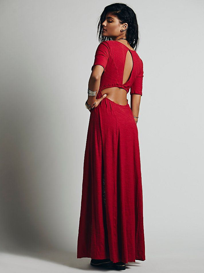 Free People Sunlit Gown Maxi at Free People Clothing Boutique
