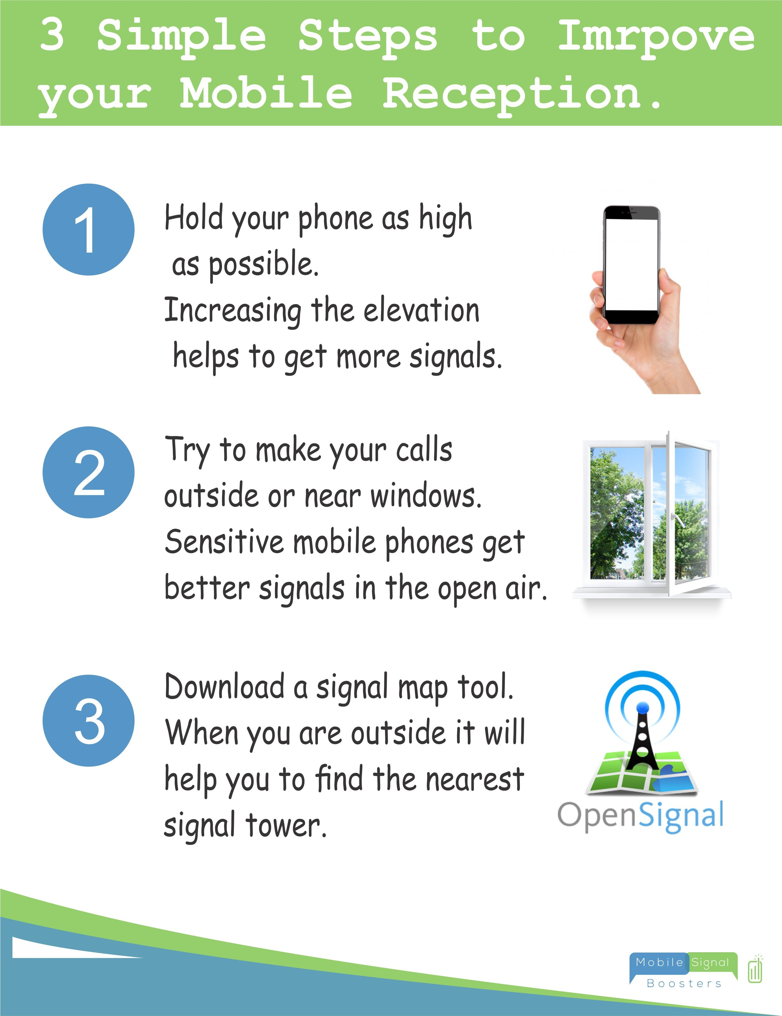 We will boost your mobile signal! #infographic #tips #help