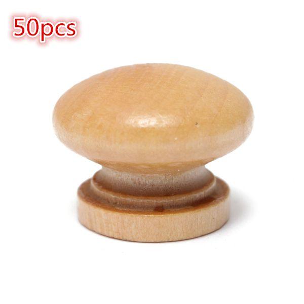 50pcs manija del gabinete de madera perilla cajón de la cocina ...