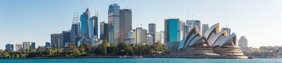 Sydney Australia Panorama by sebastianbourges