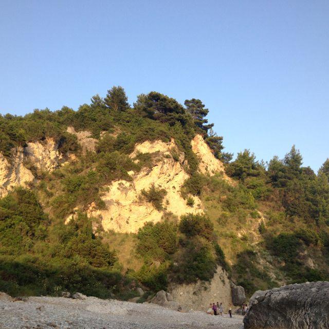 Pieni ranta Pargassa.