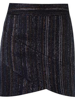 Short saia de tricot