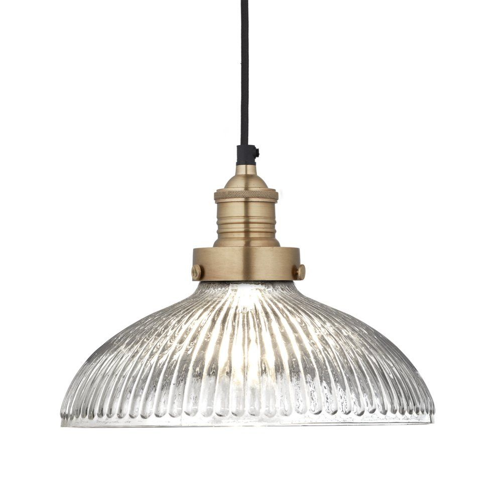Brooklyn Glass Dome Pendant   9 Inch    MOM the MAISON&OBJET ...