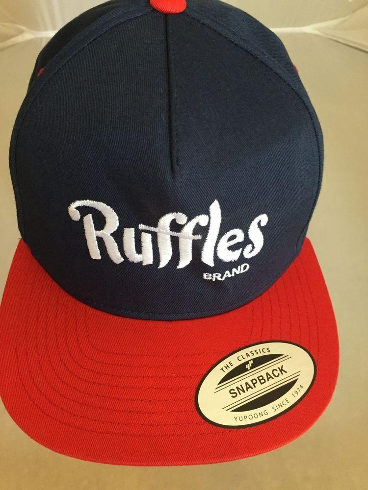 b39410e4aa455 Ruffles Brand Potato Chips Snapback Cap Classic Flexfit Baseball Hat  Yupoong New  Yupoong  FlatCap