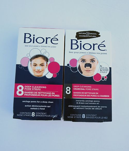 Back To School With Biore Pore Strips Biore Deep Cleansing