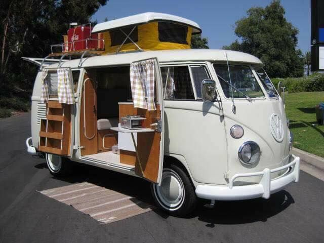 947a0935f09349 white pop up camper  spades  vw bus ☮ pinned by http