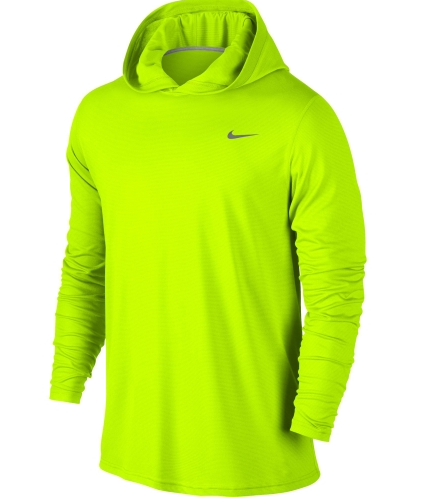 Nike Men's Long Sleeve Dri-FIT Touch Hoodie available at Dick's Sporting Goods