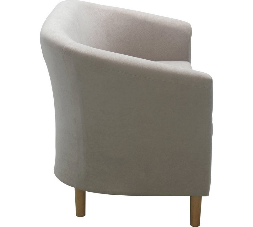 Peachy Buy Argos Home 2 Seater Fabric Tub Sofa Mocha Sofas In Bralicious Painted Fabric Chair Ideas Braliciousco