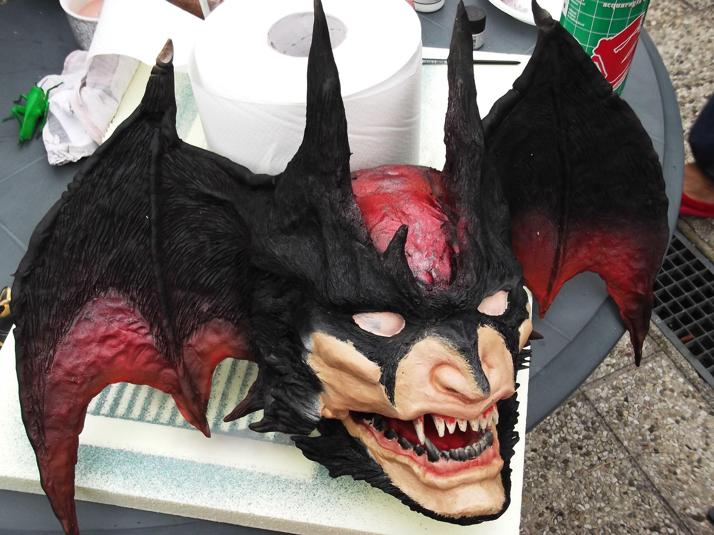 Devilman Head 1 1 Scale Go Nagai Fullscratchbuilt By