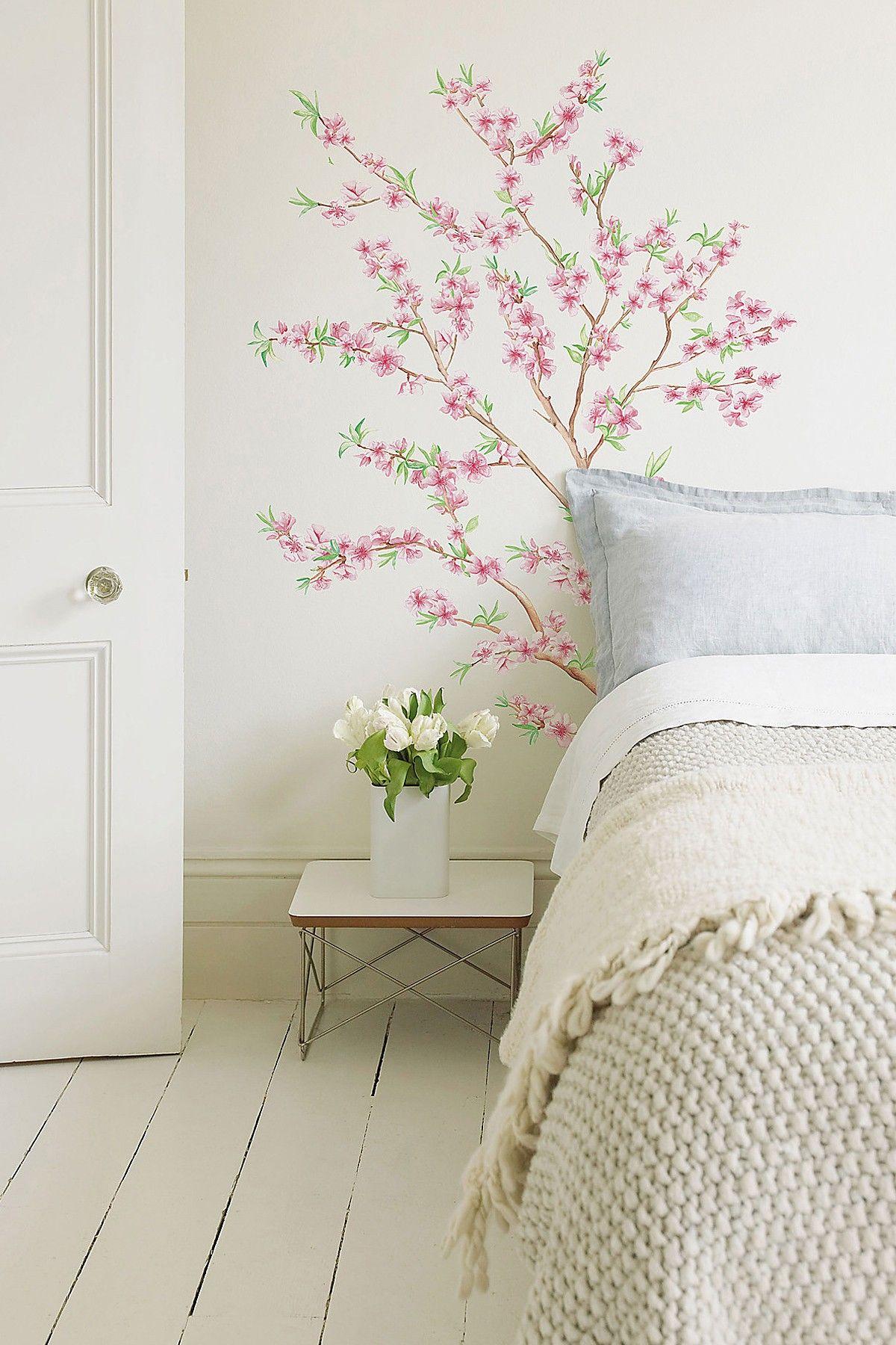 Flower wall decal wayfair interior decorating pinterest